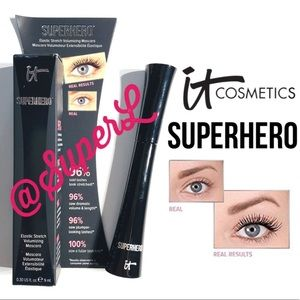 2/$25 It Cosmetics Superhero Mascara Volume Black